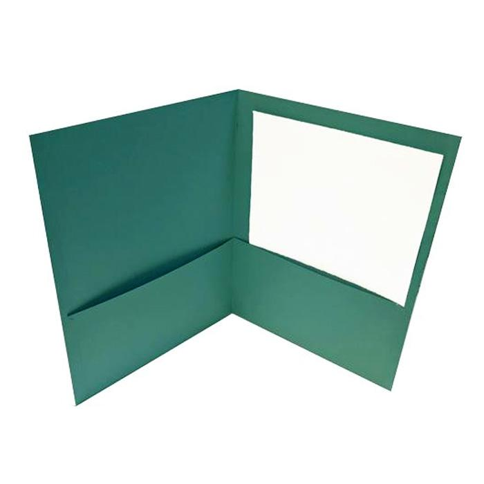 2-Pocket Paper Portfolio Folder