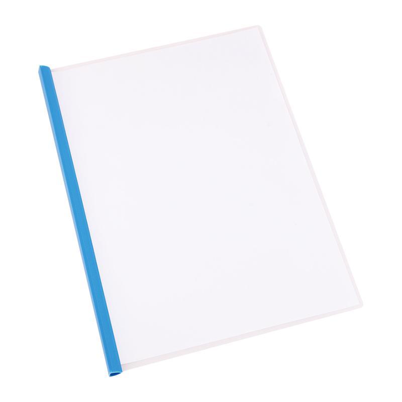 Deli Slide Grip Report Cover A4 Pack of 5 E5531