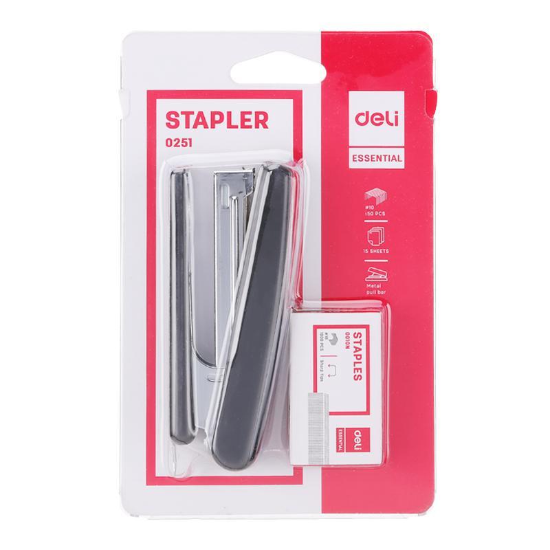 Deli Stapler and Bullet Value Pack E0251