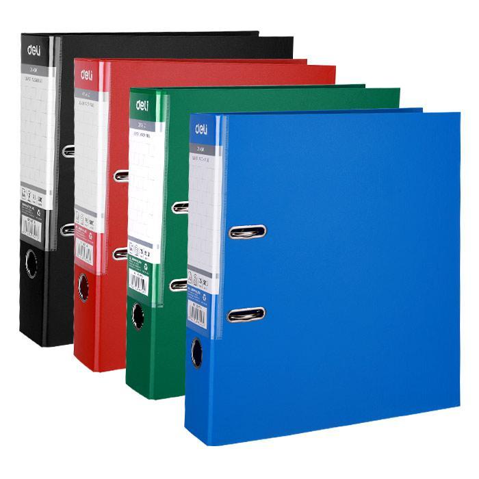 Deli PVC Arch File 3 Inch A4 Size EB207