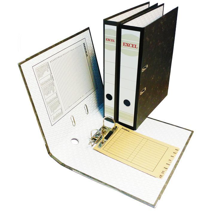 Cardboard Arch File 3 Inch Foolscap Size