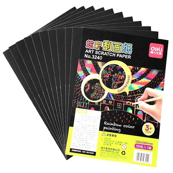 Deli Scratch Paper Pack of 10 Pcs 3242