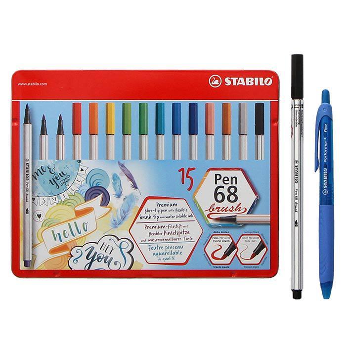 Stabilo Value Bundle Pack 568/15-1