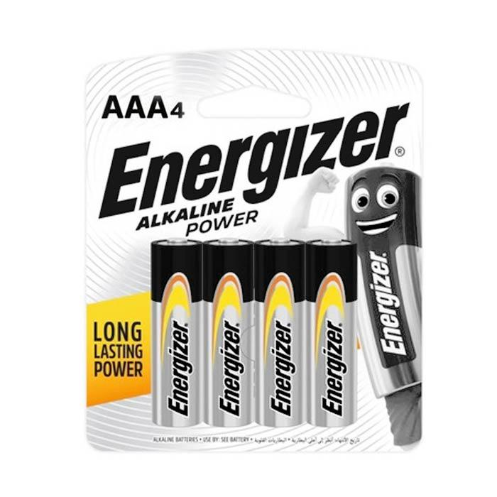 Energizer AAA Battery E92 Pack of 4