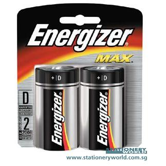 Energizer D Battery E95 Pack of 2