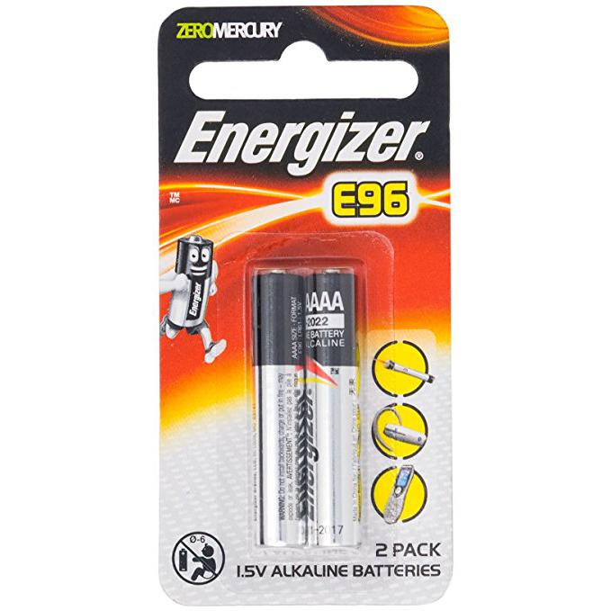 Energizer AAAA Battery E96 Pack of 2