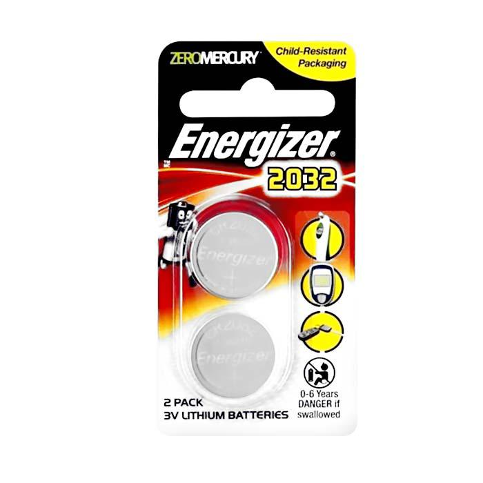 Energizer Battery CR2032 Pack of 2