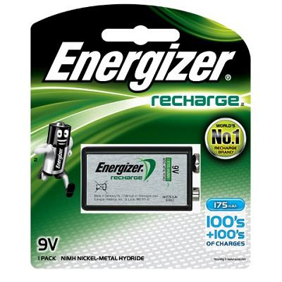 Energizer Rechargeable 9 Volt Battery NH22BP1