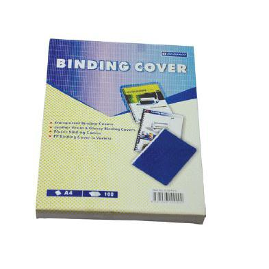 Bindermax Clear Binding Covers A4 0.2mm BMX-BC-A4/0.2/BX