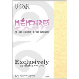 U-Grade Memories Cards A4 200gsm Pack of 15