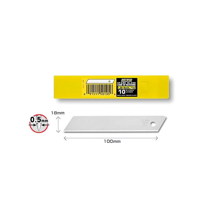 OLFA Blades 18mm Pack of 10 LB-SOL-10