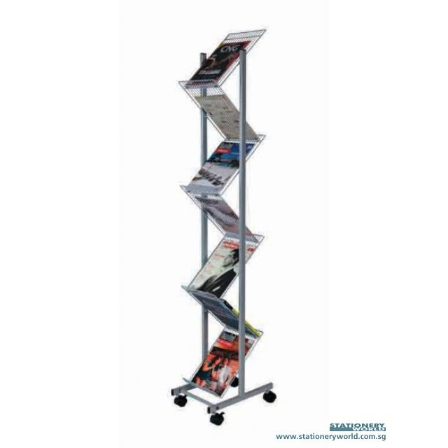 Brochure and Magazine Rack MR-213