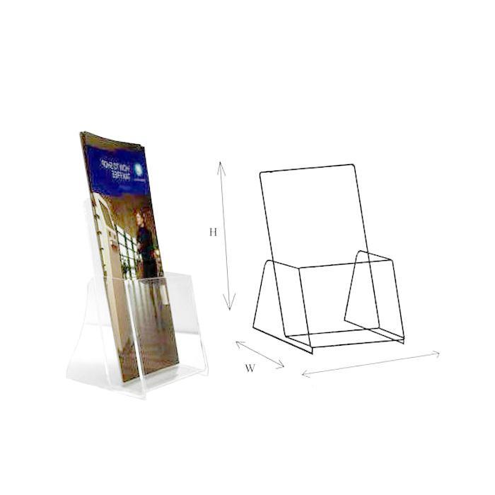STZ Acrylic Leaflet Holder 4 Inch 50825