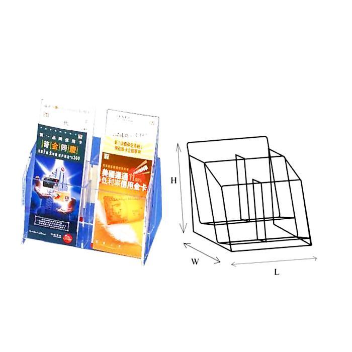 STZ 2 Tier Acrylic Leaflet Holder A4 50830