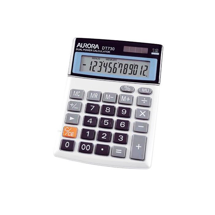 Aurora Calculator 12 Digits DT-730