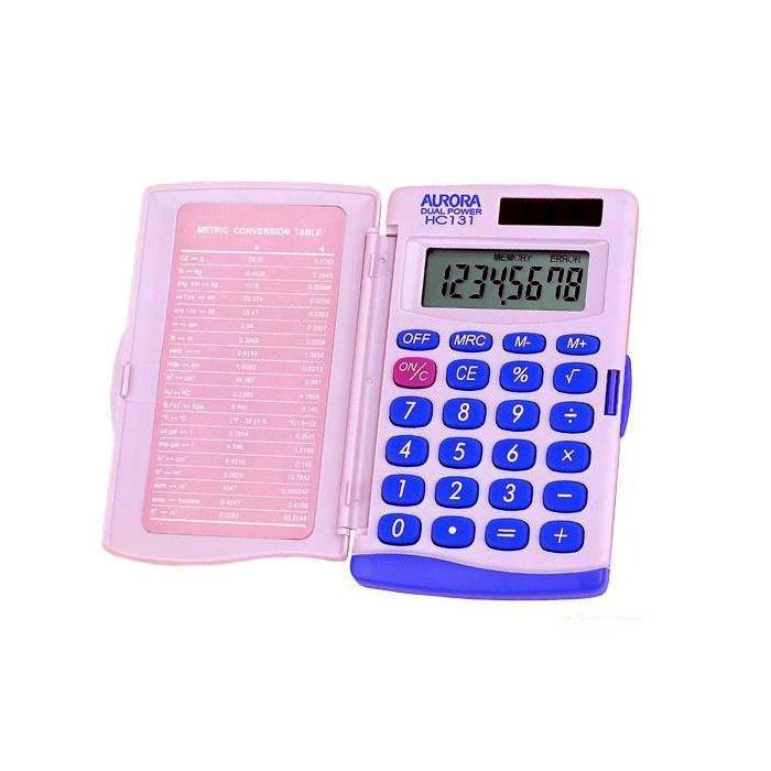 Aurora Calculator with Flap 8 Digits HC131