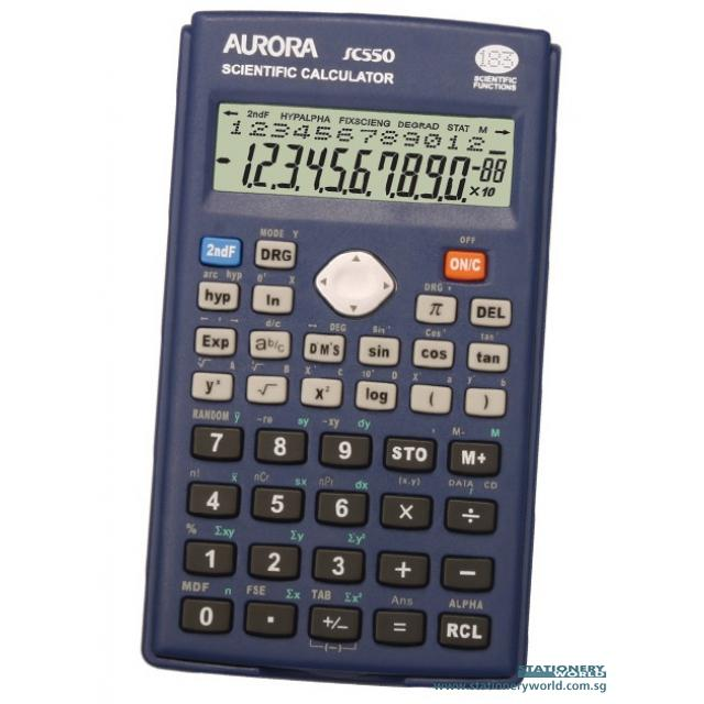 Aurora 10 + 2 Digit Scientific Calculator SC550