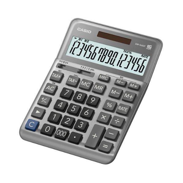 Casio Calculator 16 Digits DM-1600F