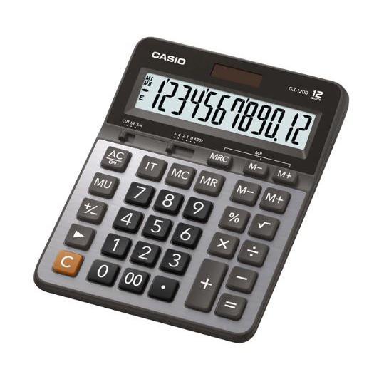 Casio Calculator 12 Digits GX-120B