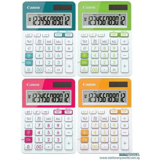 Canon Mini Calculator 12 Digits LS-123T