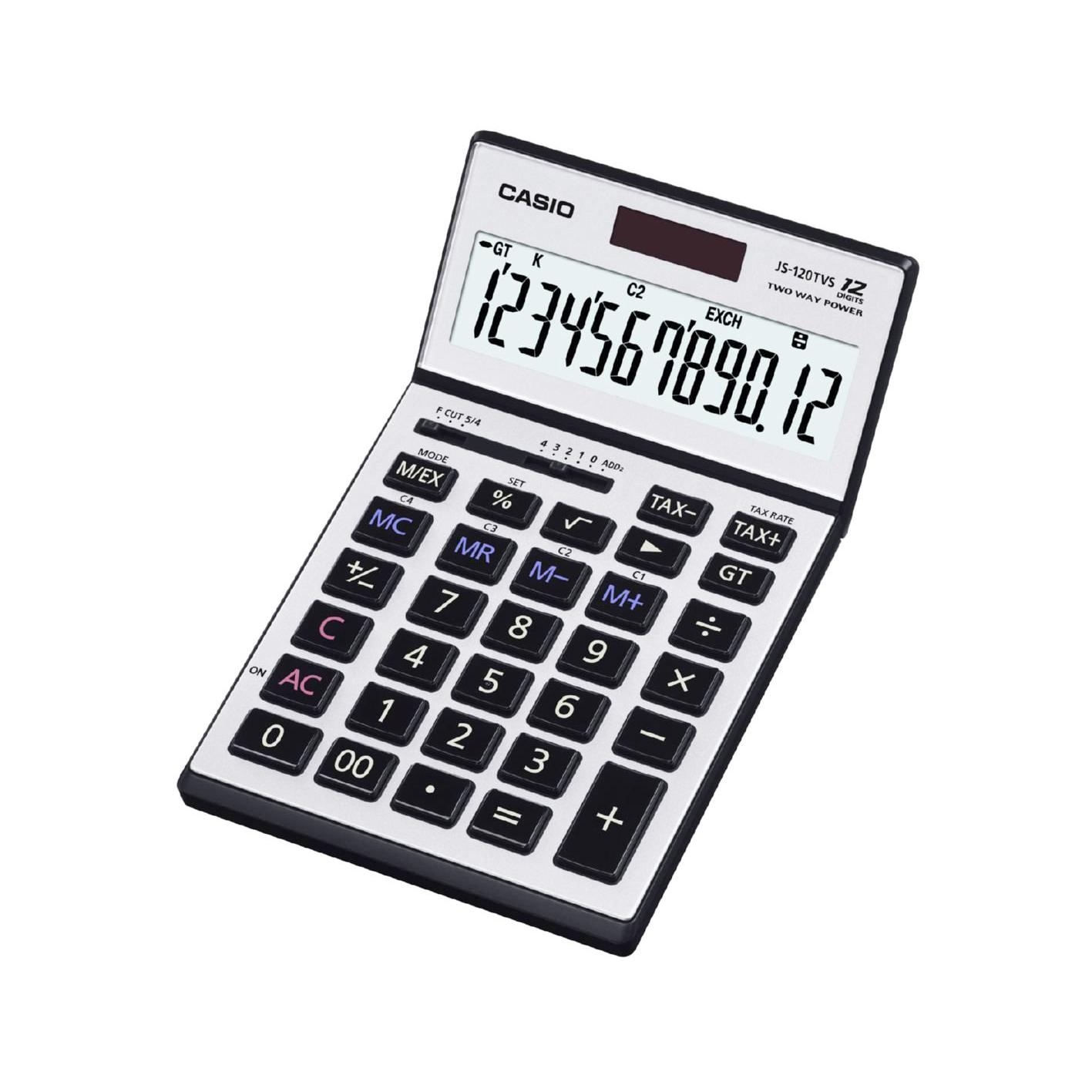 Casio Calculator 12 Digits JS-120TVS