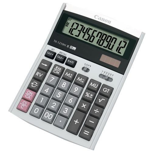 Canon Calculator 12 Digits TX-1210HI