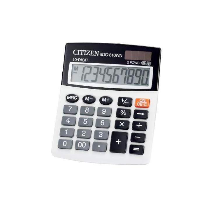 CITIZEN Calculator 10 Digits SDC-810