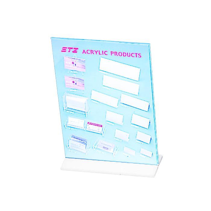 STZ Acrylic Sign Holder A4 Vertical 50820