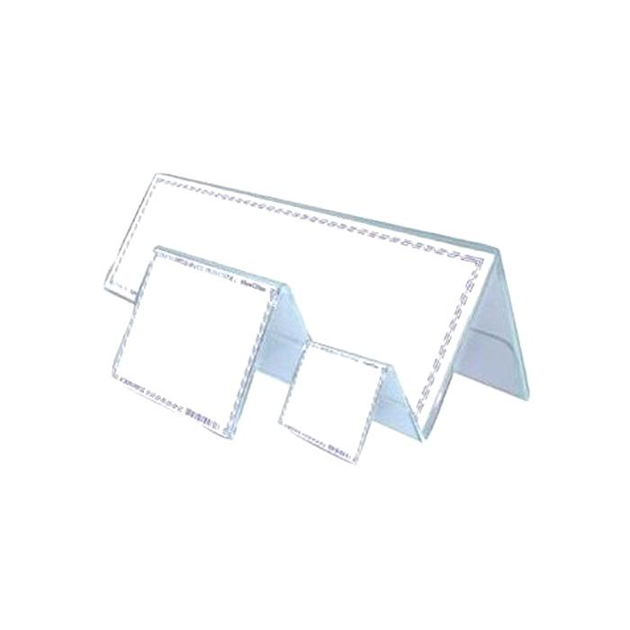 STZ Tent Acrylic Card Stand 75 x 55mm 50979