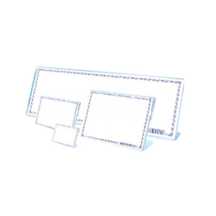 STZ Acrylic Card Stand 90 x 60mm 50984