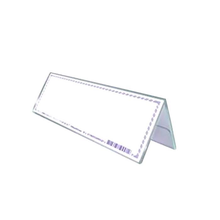 STZ Acrylic Card Stand 180 x 65mm 50991