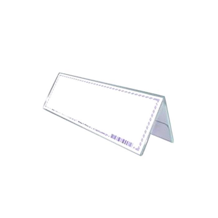 STZ Acrylic Card Stand 300 x 100mm 50993