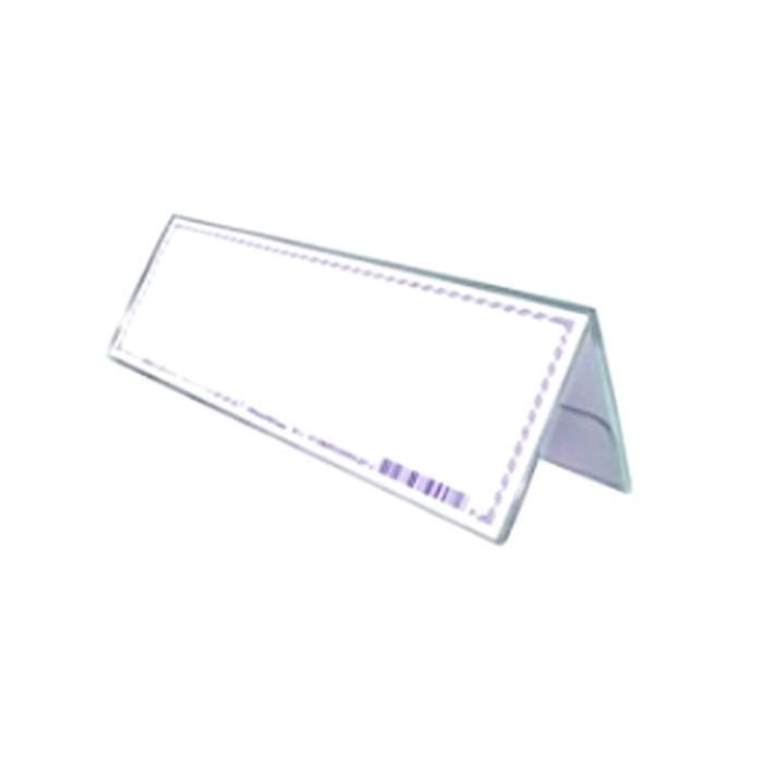 STZ Acrylic Both Card Stand 90 x 60mm 50994
