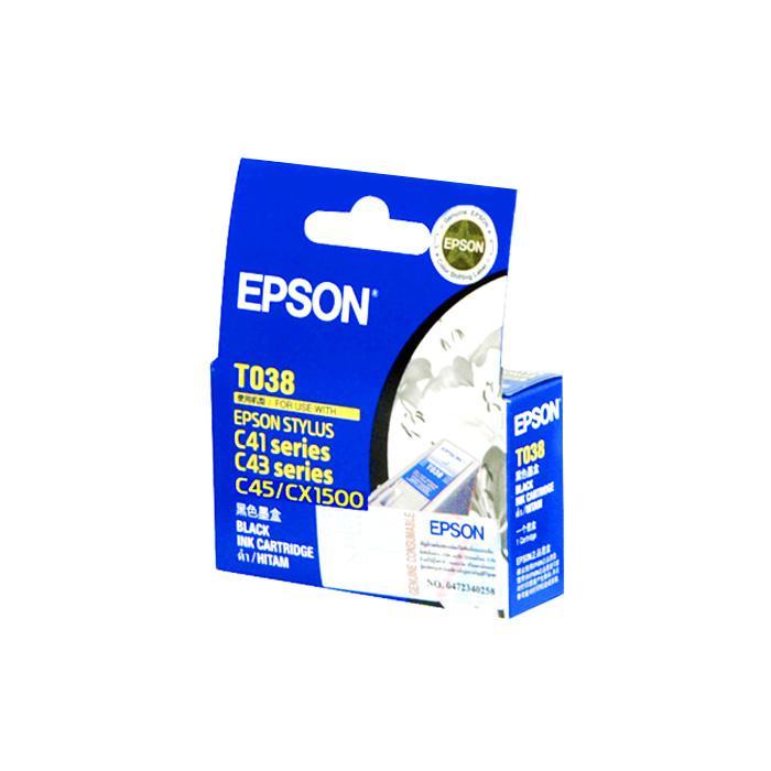 Epson Black Ink Cartridge T038190 (for Stylus C41SX/UX)