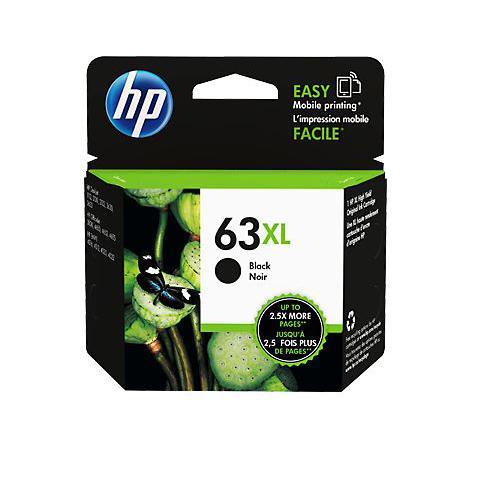 HP 63XL Black Ink Cartridge F6U64AA