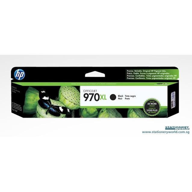 HP 970XL Black Ink Cartridge CN625AA