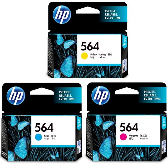 HP 564 Colour Ink Cartridge