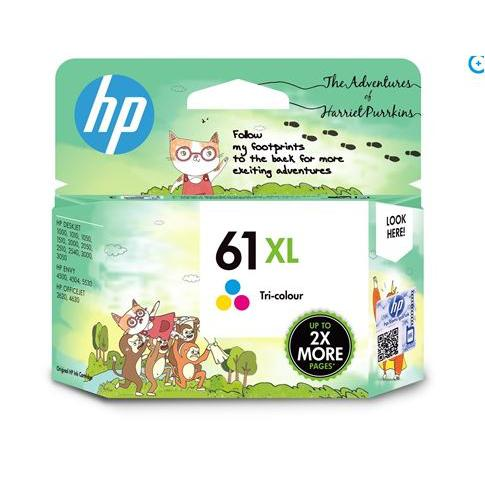HP 61XL Tricolour Ink Cartridge 1VV33AA