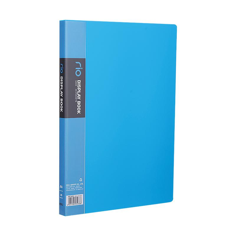 Deli Display Book Clear Holder A4 30 Pockets 5033