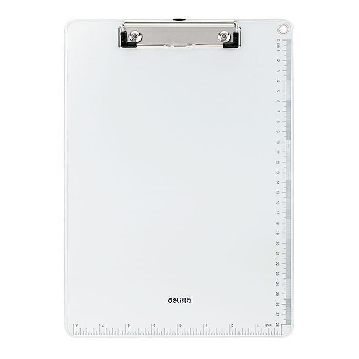 Deli Metal Clip Board with Aluminium Frame 64504