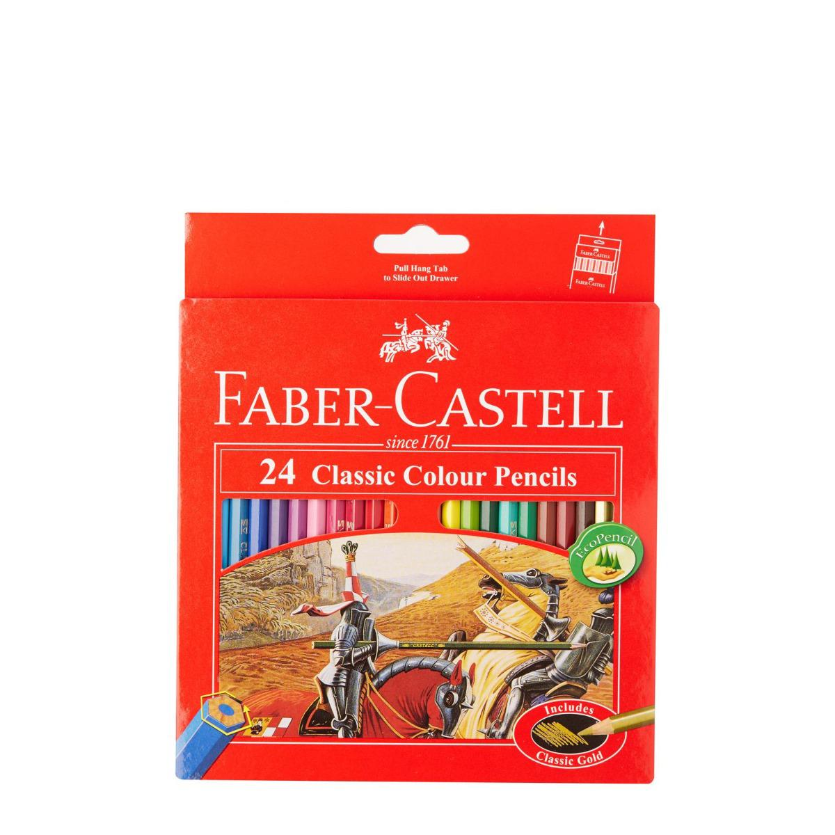 Faber-Castell Classic 24 Long Colour Pencils PL115854