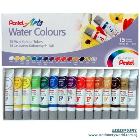 Pentel 15 Watercolours WFRS-15