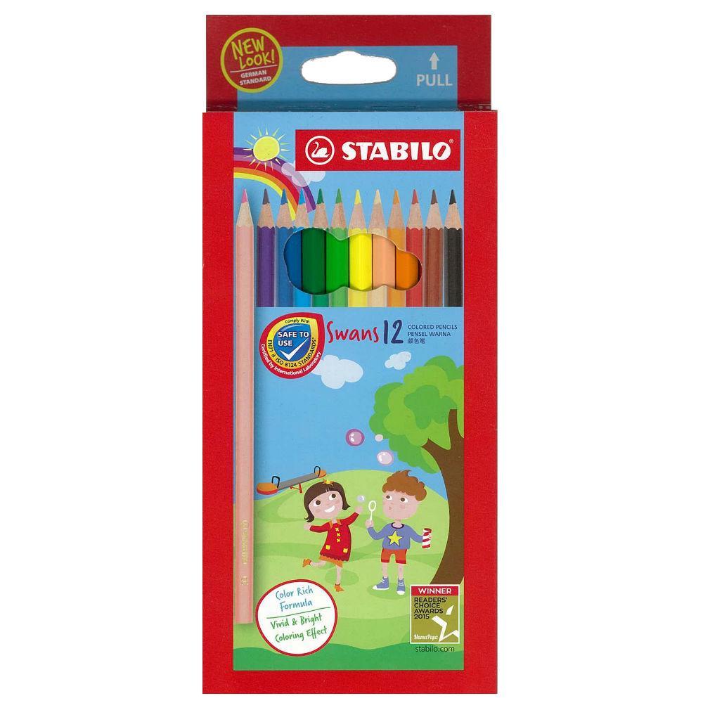 Stabilo Colour Pencil 12 Colours 1877S