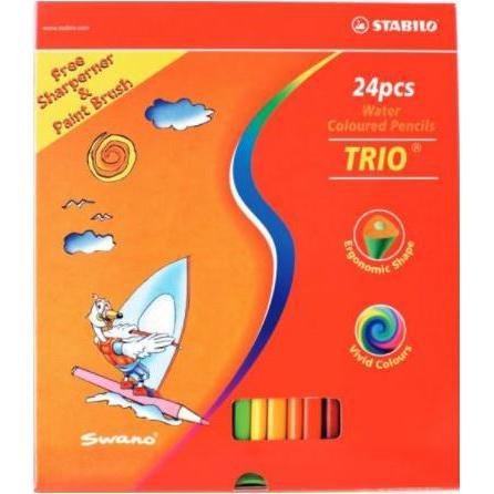 STABILO Aquarelle 24 Watercolour Pencils S1669T