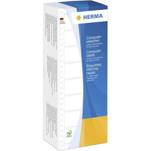 HERMA White Computer Labels 8211