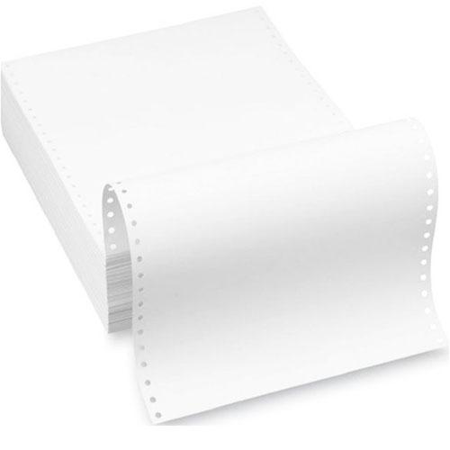 1 Ply White Computer Forms 9.5 x 11 Inch