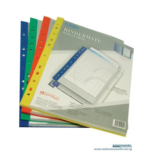 Bindermax Display Book 20 Pockets 22005/W205