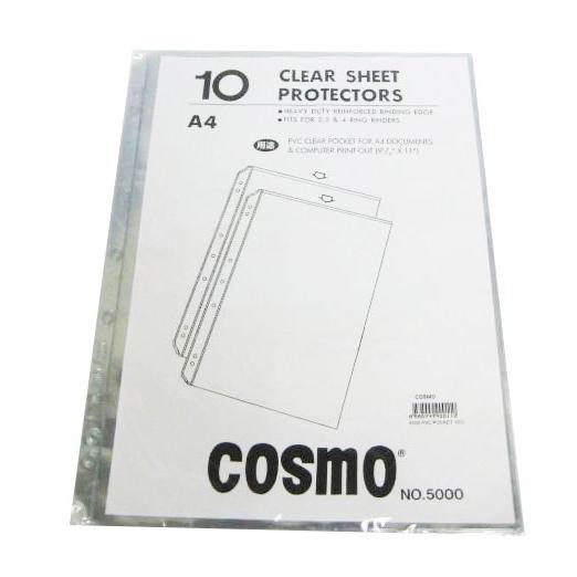Cosmo Copysafe Sheet Protectors A4 No. 5000