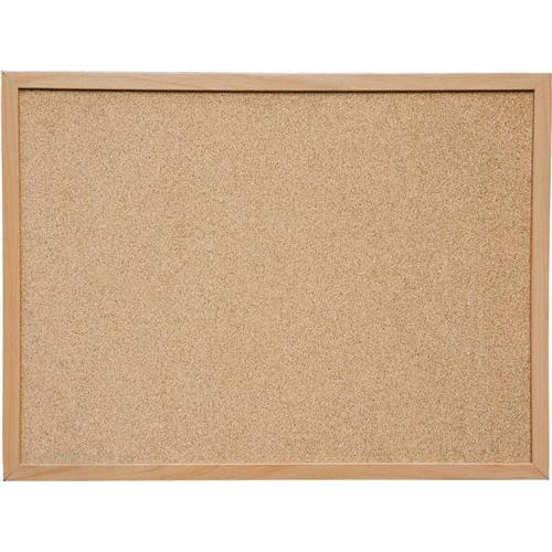 Cork Noticeboard with Wooden Frame 60 x 90cm