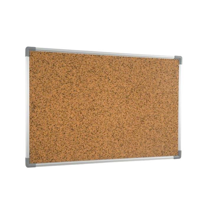 Cork Noticeboard with Aluminium Frame 90 x 120cm